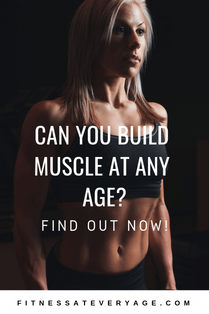 Female muscle growth at any age