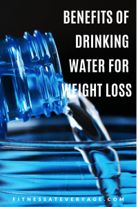 Benefits of Drinking Water for Weight Loss