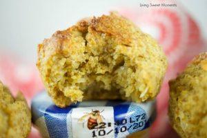 Chia Oat Healthy Mango Coconut Muffins