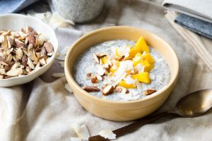 Chia Pudding with Coconut Milk, chia seed recipes