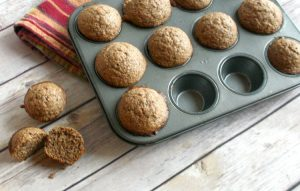 Chocolate Malt-O-Meal Muffins with Chia Seeds, chia seed recipes