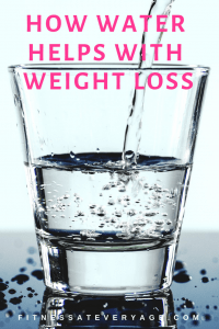 How water helps with weight loss