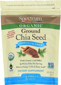 Spectrum Essentials Organic Ground Chia Seeds