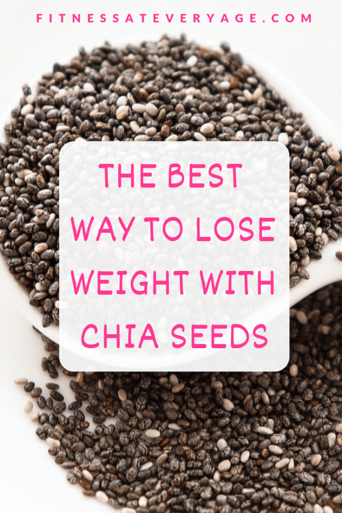 The best way to lose weight with chia seeds