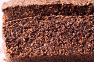 Vegan Quinoa and Chia Bread, chia seeds food