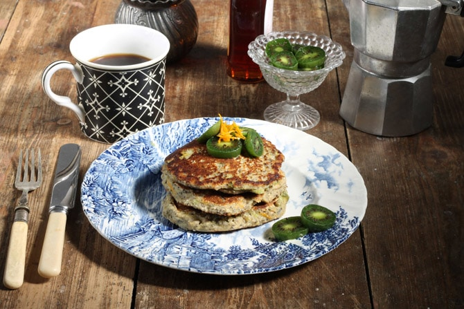 Zesty Orange Chia Pancakes