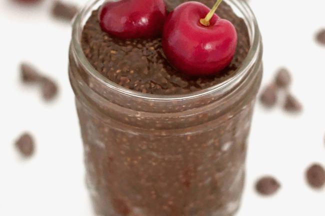 chocolate-chia-pudding, chia seed recipes