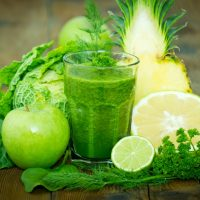 Green Tea and Vegetable Smoothie