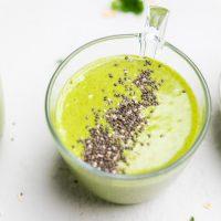 Dairy Free Green Smoothie (Vegan)