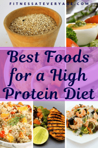 Best foods for a high protein diet