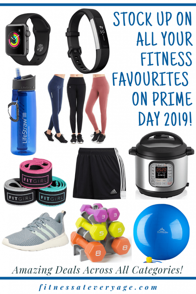 Stock up on all your fitness favorites on Amazon prime day
