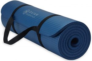 Gaiam Essentials Fitness and Exercise Mat