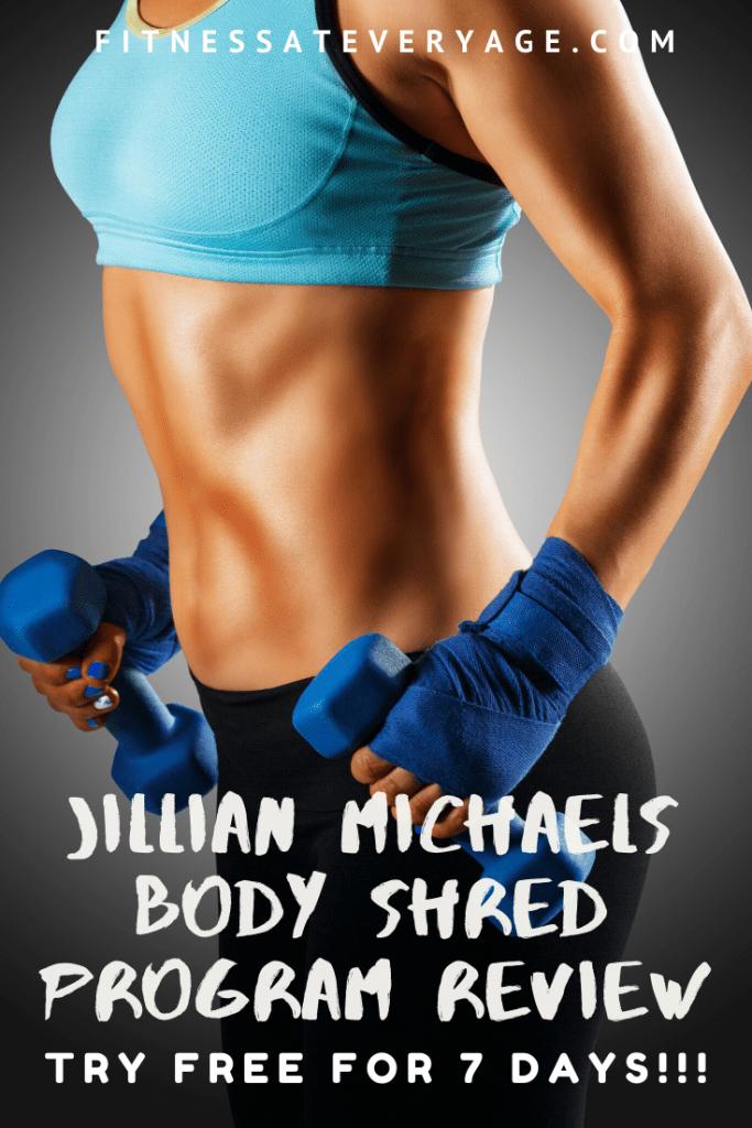 Jillian Michaels BodyShred Program, try free for 7 days