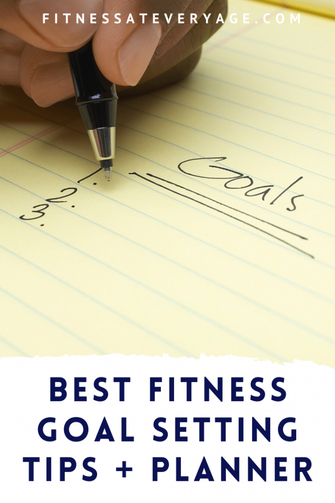 Best fitness goals setting planner