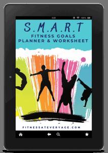 SMART fitness goal planner and worksheet