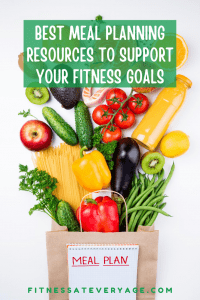 Best meal planning resources for supporting your fitness goals