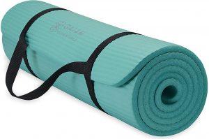 Gaiam Essentials Fitness and Exercise Mat