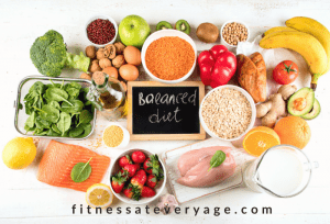 Eating a balanced diet is important for weight loss goals