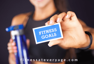 free fitness goals planner and worksheet available here.