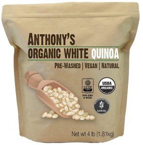 Anthony's Organic White Quinoa Grain