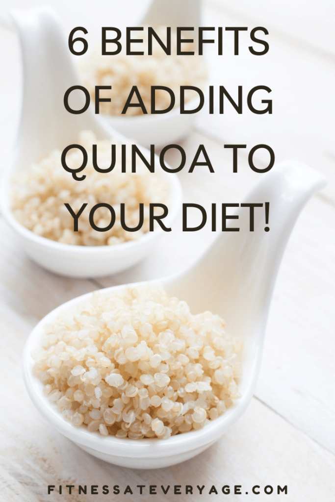 Six health benefits of adding quinoa to your diet