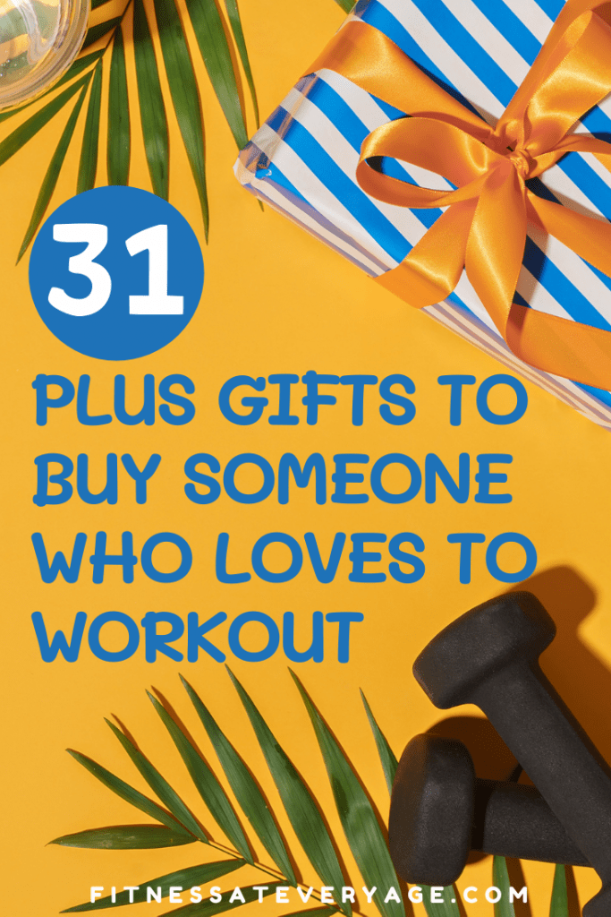 31 Plus Gifts to Buy Someone Who Loves to Workout