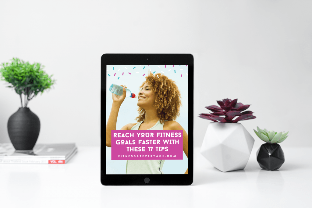 Reach Your Fitness Goals Faster With These 17 Tips Cover Mockup