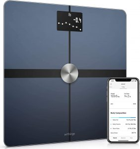 WITHINGS Body+ - Digital Wi-Fi Smart Scale