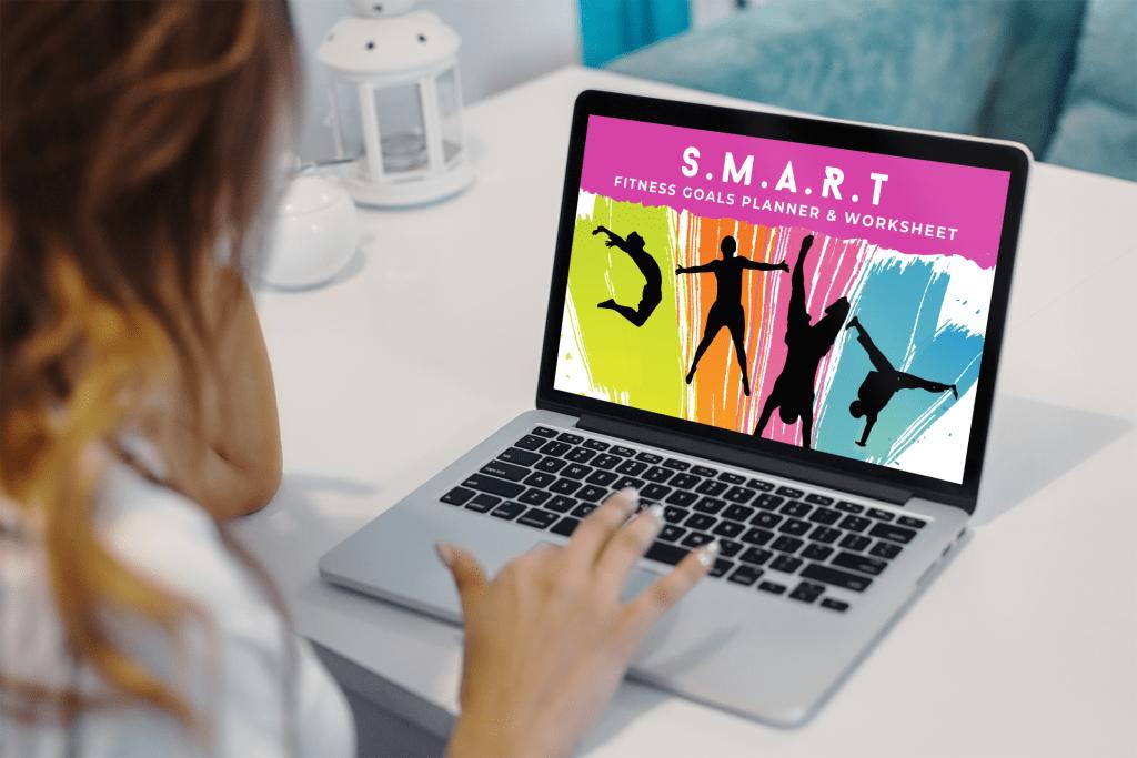 SMART Fitness Goals Worksheet 2021