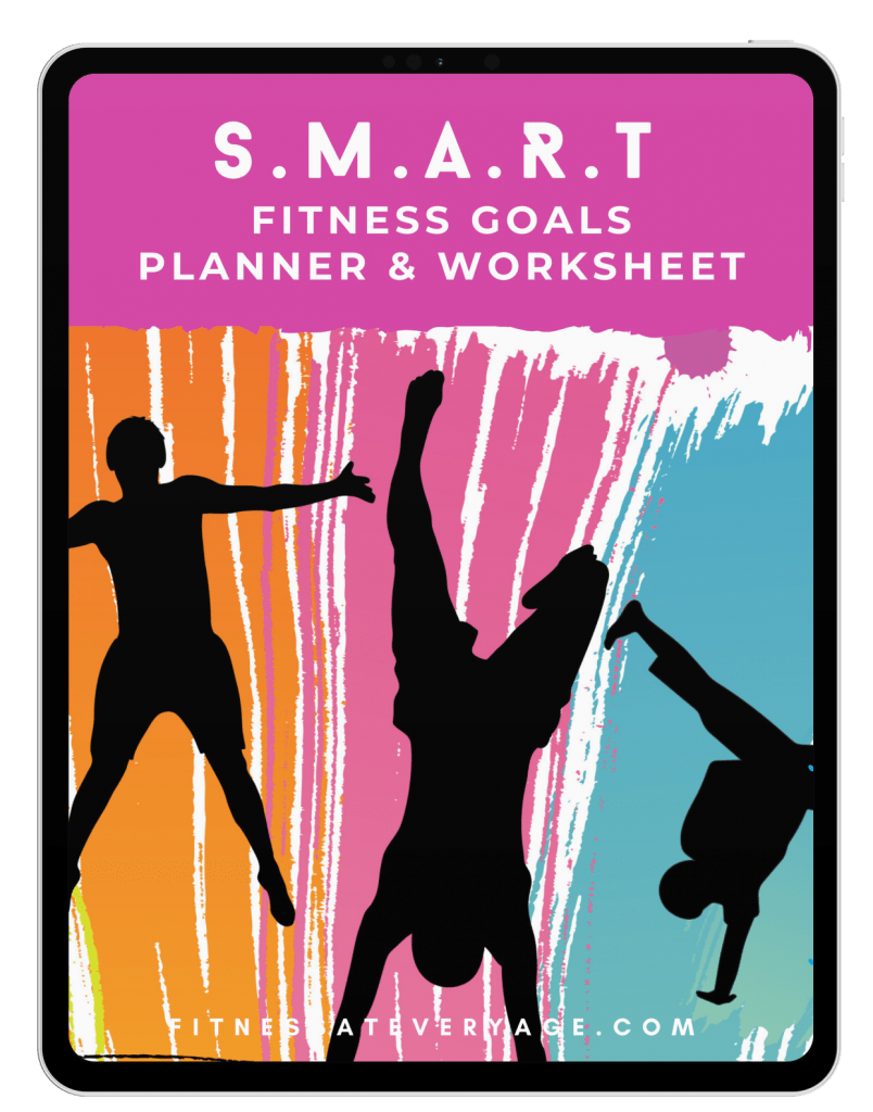 SMART Fitness Goals Worksheet 2021 Cover Ipad