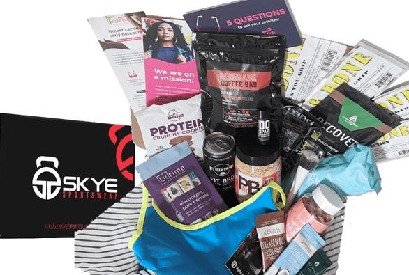 Skye Sportswear Fitness Subscription Box