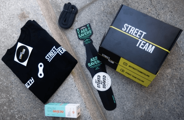 Street Team, Cycling Care Package