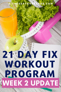 21 Day Fix Workout Week 2 Review
