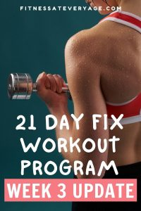 21 Day Fix Workout Week 3