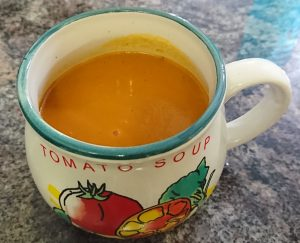 Tomato and Basil Soup Post Workout