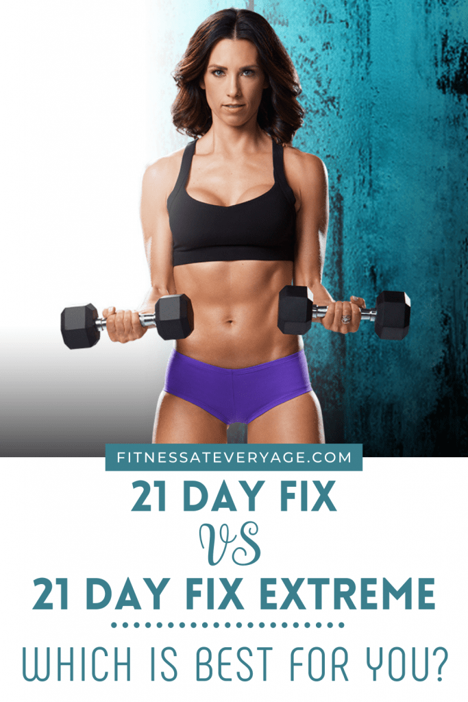 21 Day Fix vs 21 Day Fix Extreme- Which is Best For You?