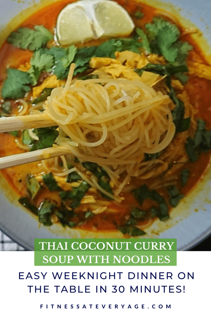 How to Make Thai Coconut Curry Soup