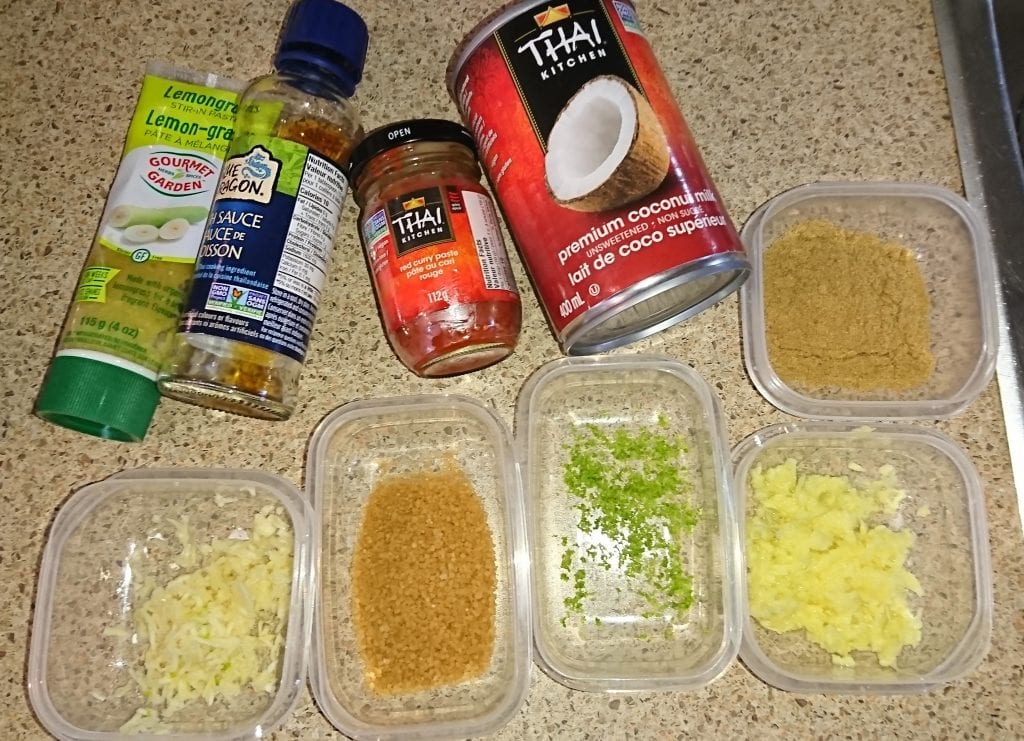 Thai Coconut Curry Soup Recipe 2