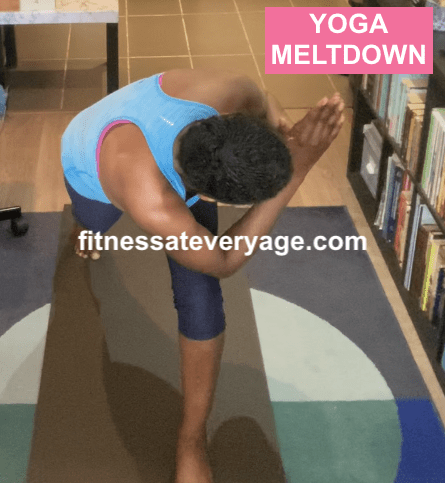 Crescent Pose Yoga Meltdown