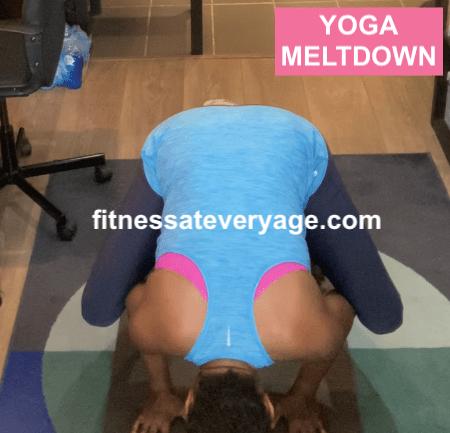 Crow Pose Yoga Meltdown