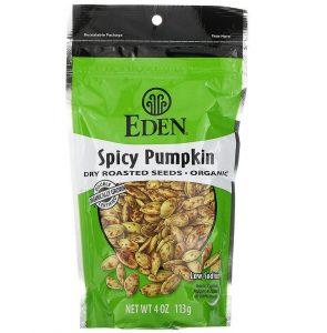 Eden Foods Organic Spicy Pumpkin Dry Roasted Seeds
