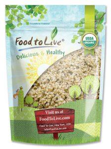 Food to Live Certified Organic Hemp Seeds