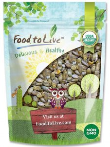 Foods to Live Organic Dry Roasted Pumpkin Seeds