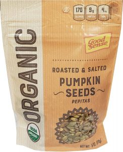 Good Sense Roasted & Salted Organic Pumpkin Seeds