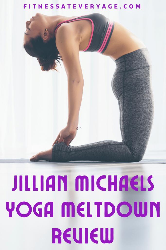 Jillian Michaels Yoga Meltdown Review