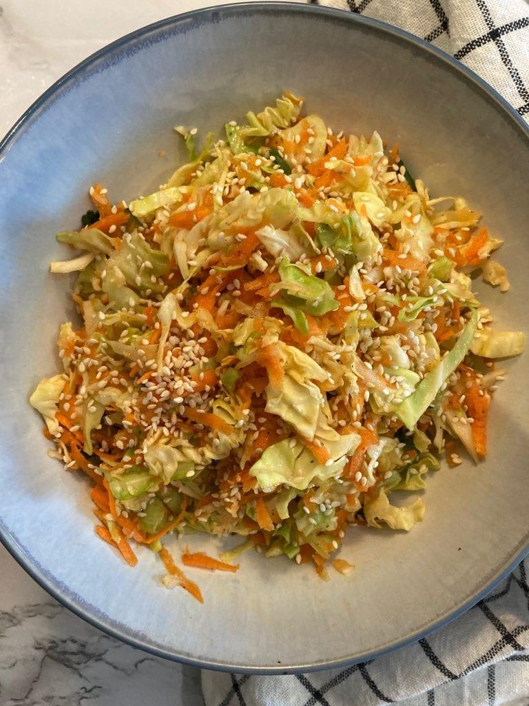 Vegan Cabbage Salad Prep4