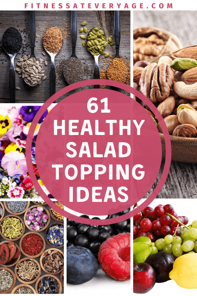 61 Healthy Salad Topping Ideas