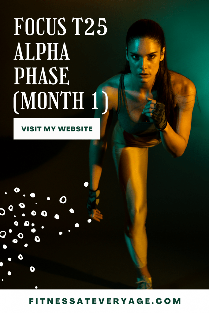 Focus T25 Alpha Phase Month 1 Review