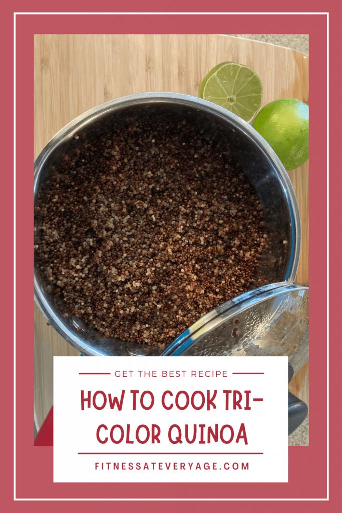 How to Cook Tri Color Quinoa