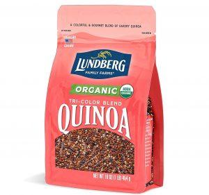 Lundberg Family Farms Organic Tri-Color Blend Quinoa